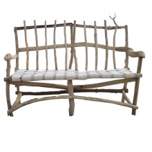 Panchina in legno di recupero