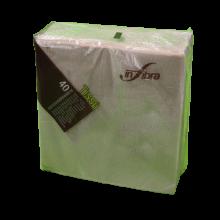 Confezione 100 pezzi - Tovagliolo fibre riciclate 33x33 due veli, 100% eco