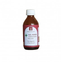 Gel mani igienizzante argento puro e tea tree oil Confezione 100 ML