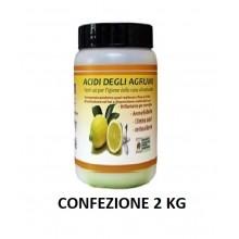 Confezione da 2KG - Acidi degli agrumi