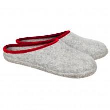 Pantofole in feltro aperte colore grigio 30-34
