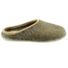 Pantofole in feltro aperte colore marrone 41-47