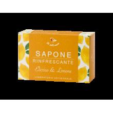 Sapone Rinfrescante Elicriso e Limone 100gr