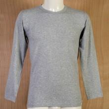 T-Shirt Manica Lunga Uomo Colore Grigio Taglia 5°a