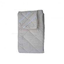 Coprimaterasso trapuntato/Topper in cotone Bio (con elastico) 80x190