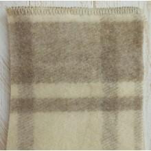 Coperta in lana naturale follata 150x210