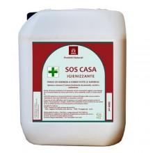 Detergente igienizzante SOS CASA olii essenziali alcool puro Confezione 5 LT