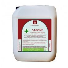 Sapone liquido igienizzante argento puro tea tree oil confezione 5 LT