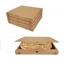 Cartone da 200 pezzi - Scatola pizza avana 33x33